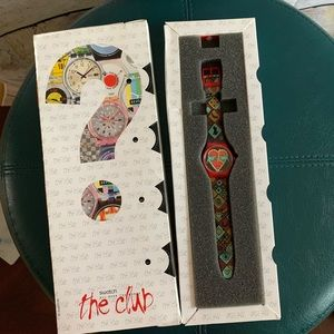 Vintage Swatch Watch The Club EXCLUSIVE